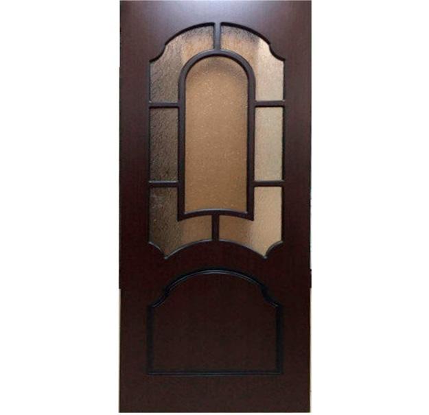 межкомнатные двери со стеклом кристалл венге